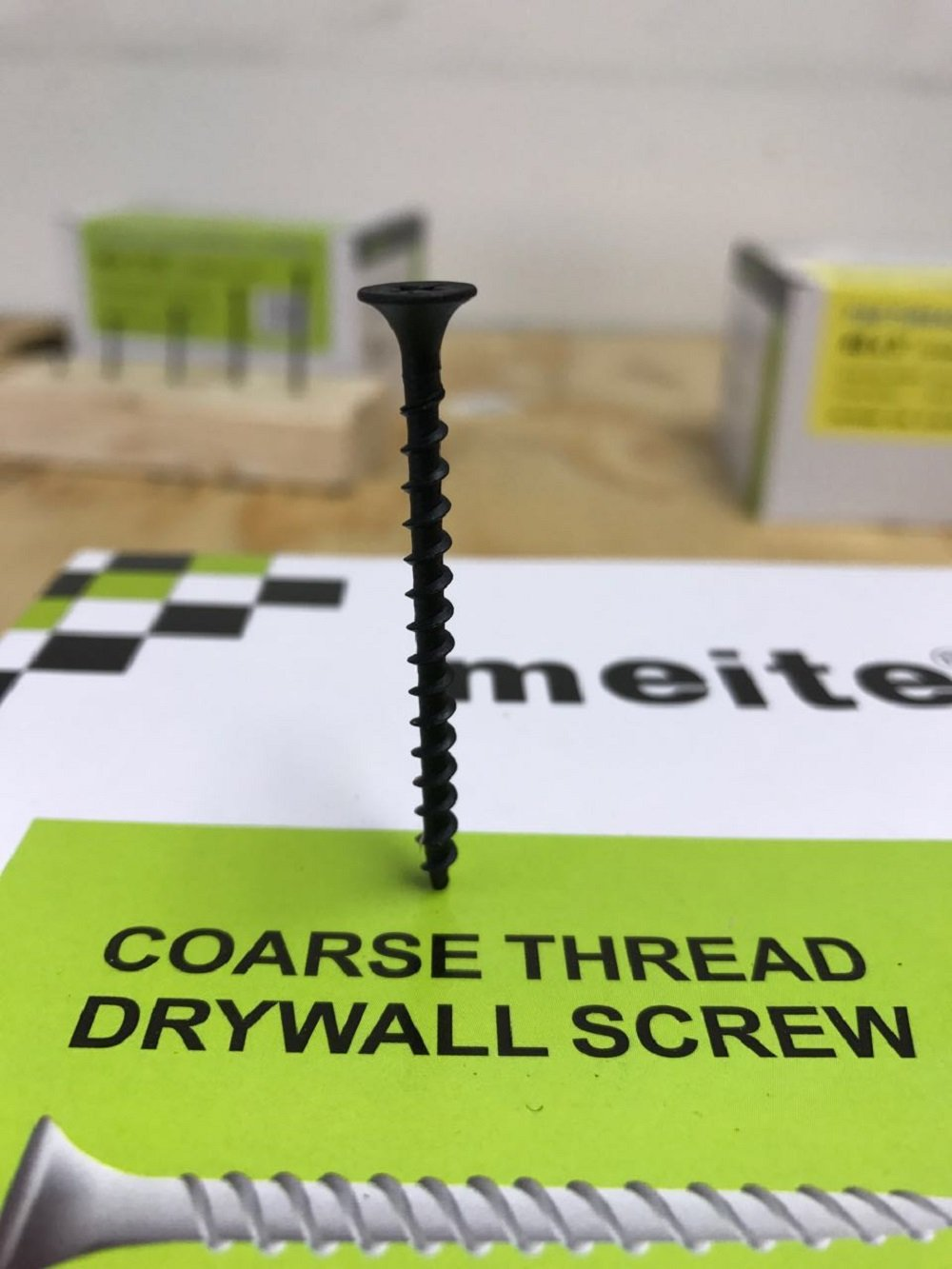 5 Pounds Black #DSC2M meite #6 Coarse Thread Drywall Screw By 2-Inch with Bugle Head