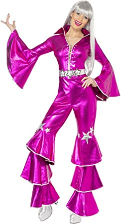 Disfraz Disco Dancing Dream Rosa para Mujer: Amazon.es: Juguetes y ...