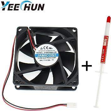 cooling fan 12 Volt 80 x 80 x 25mm brushless