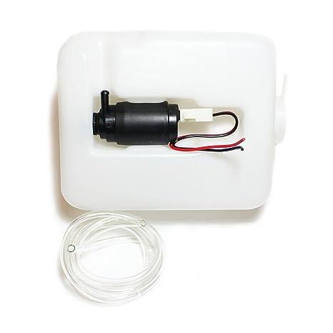 Kit universal y económico de bomba de limpiaparabrisas de 12 V y ...