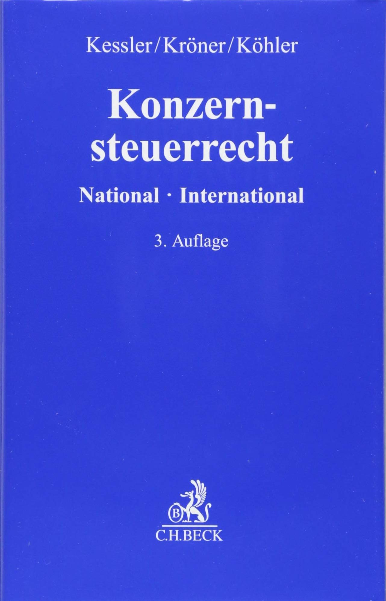 Konzernsteuerrecht  National   International