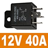 Ehdis Car Relay 4 Pin 12v 40amp Spst Model