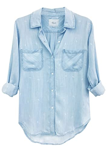 RAILS - Camisas - para mujer multicolor Denim/White M