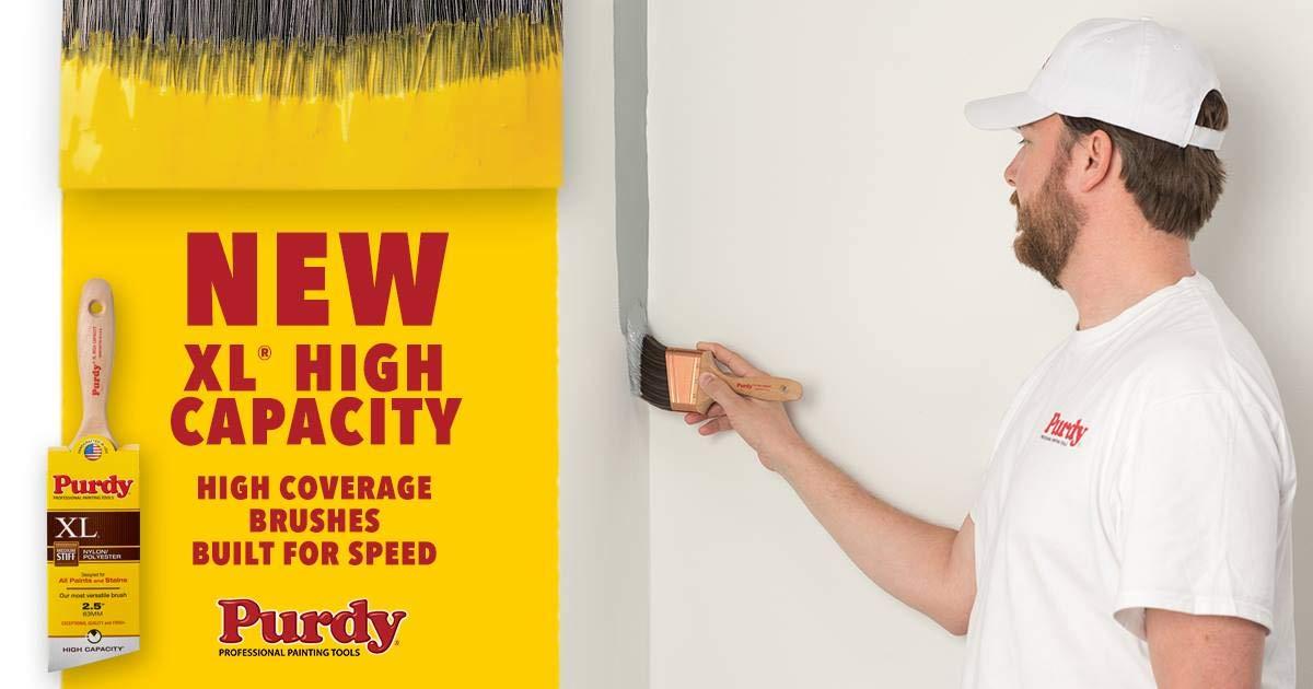 3 inch Purdy 144080330 XL Series Dale Angular Trim Paint Brush