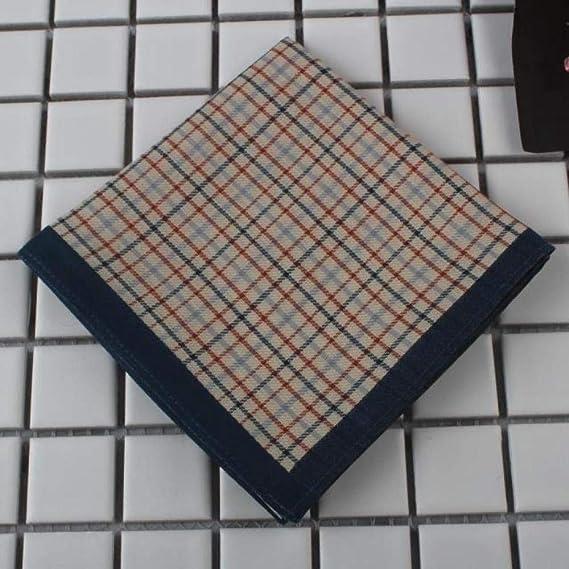 Pañuelo de algodón pañuelo para hombre toalla cuadrada para mujer ...