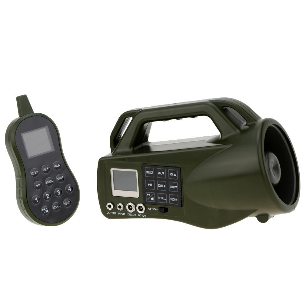 Electronic Predator Game Call Hunting Equipment Bird Sounds Mp3 Game Caller with Remote Control Bear Decoy