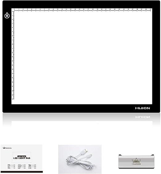 HUION L4S Caja de luz LED Portable Tablero de Calco ultra fino ...