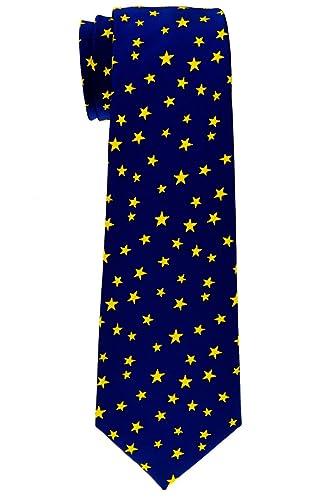 Retreez - estrellas Tejido microfibra corbata del niño - 8 - 10 ...
