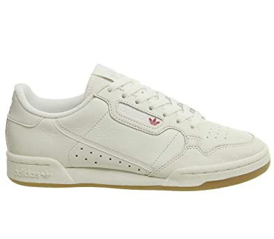 Amazon.com | adidas Mens Continental 80 Leather Off White ...