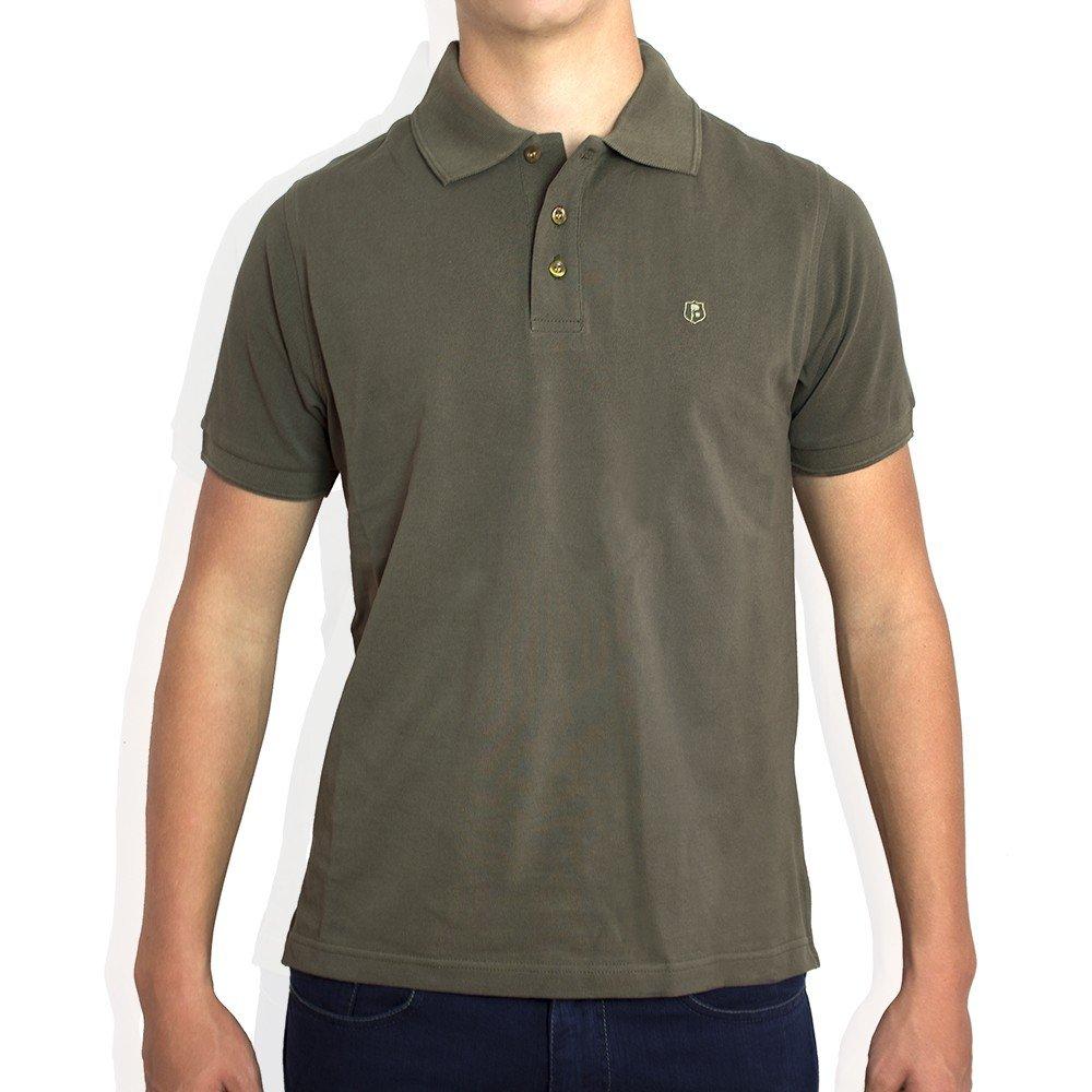 Peter Blade Polo Kaki Verde Polo-MC - Color : Verde, Talla Camisas ...