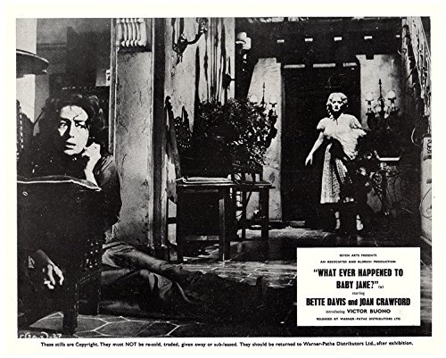 Whatever Happened To Baby Jane Original Lobby Card Crawford On Phone Davis Looks from Silverscreen