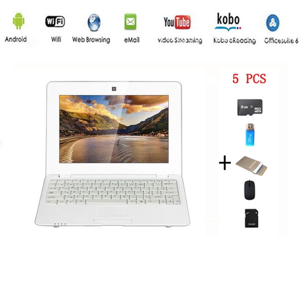AnitechNetbook Ordinateur Portable Ultrabook Android 4.2 HDMI(WiFi-SD-MMC), Sac d'ordinateur Portable+Souris +Adapter +Carte SD+Lecteur de Carte(5 PCS Accessoires) Sac d' ordinateur Portable+Souris +Adapter +Carte SD+Lecteur de Carte(5 PCS Accessoires)