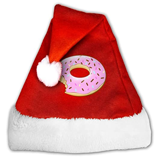 39687ea7 Amazon.com: QZDLq Whatever Sprinkles Your Donuts Fashion Unisex Christmas  Hat Christmas Theme Hats: Clothing