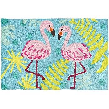 Amazon Com Flamingo Rug Kitchen Amp Dining