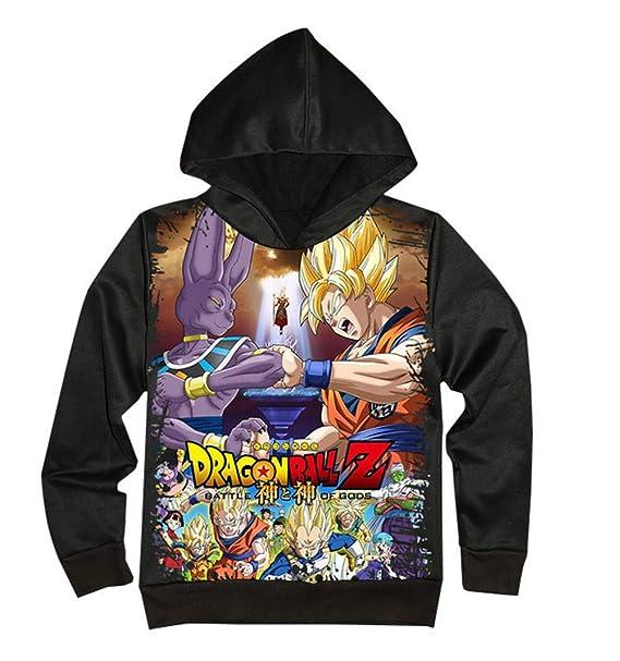Dragon Ball Sudadera con Capucha Unisex Fairy Tail Sudadera con Capucha Unisex 3D Manga, diseño de Anime, Cosplay, Pullover SudaderasD Manga, ...