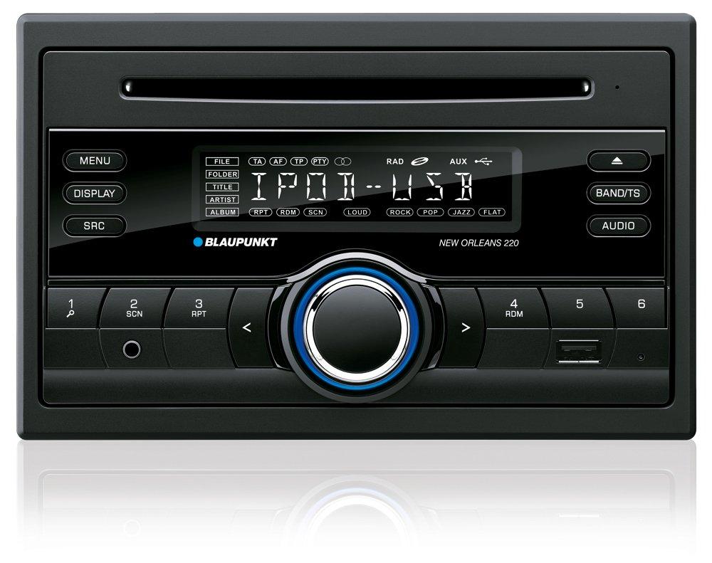 Blaupunkt New orleans 220 Car Stereo (Black)