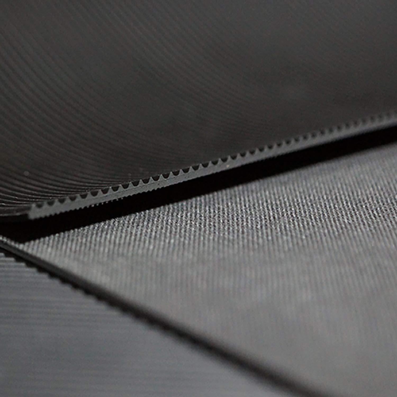 4m/² 1,2 x 3,33m Gr/ö/ße + Farbe w/ählbar Feinriefenmatte St/ärke: 3mm Farbe: Dunkelgrau
