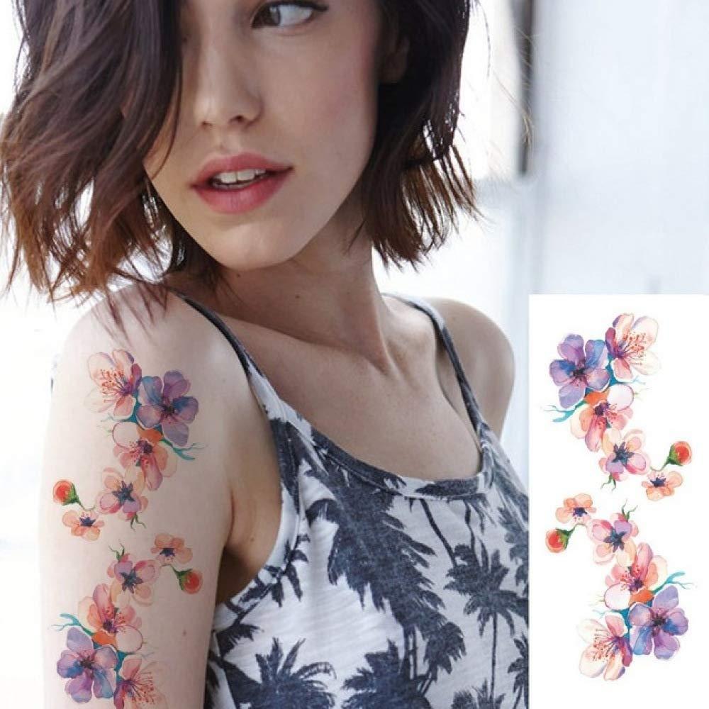 ljmljm 4 Piezas Impermeable Tatuaje Pegatina Cintura Brazo ...