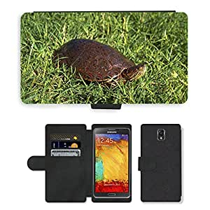 hello-mobile PU LEATHER case coque housse smartphone Flip bag Cover protection // M00135989 Tortuga deslizante Big Bend Tortugas // Samsung Galaxy Note 3 III N9000 N9002 N9005