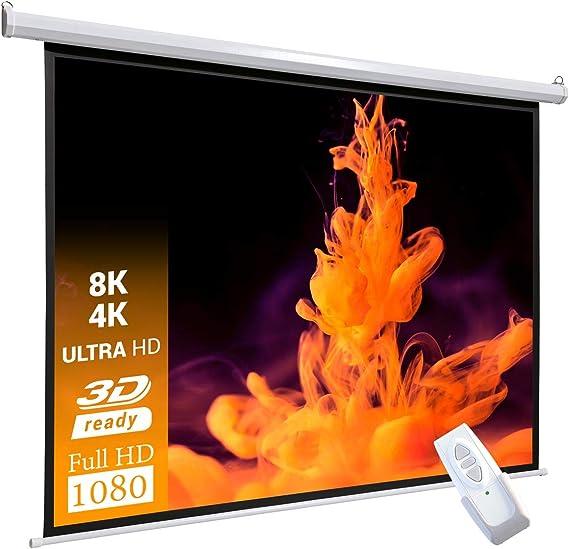 celexon basic line pantalla motorizada 200 x 13 cm, Formato de ...