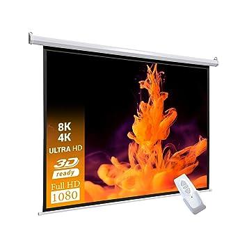 Celexon Basic Pantalla motorizada 240 x 180cm, formato de pantalla ...