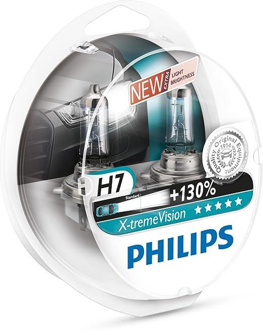 323 opinioni per Philips 12972XV+S2 X-treme Vision Set di 2 lampadine alogene per fari auto, H7,