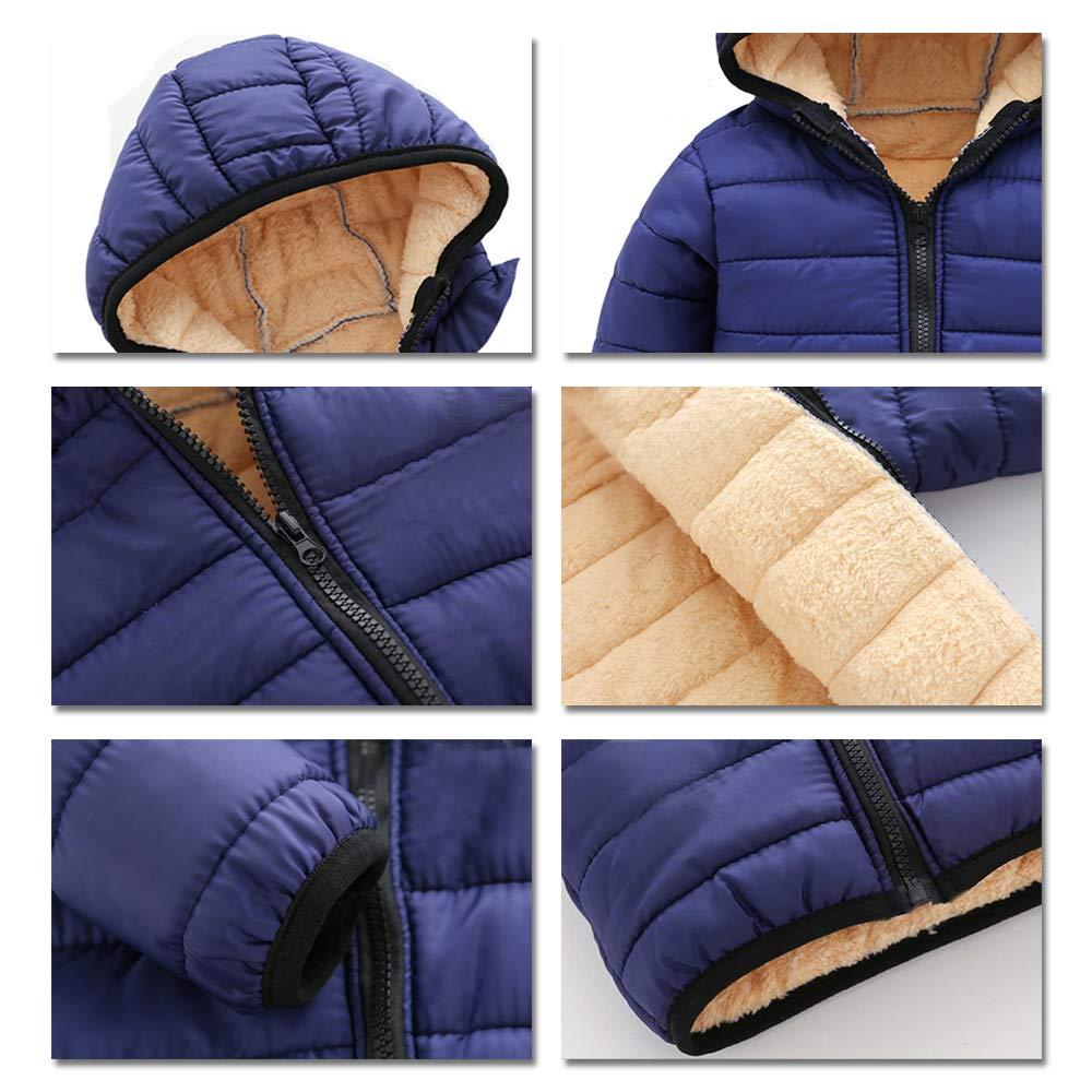 Kids Comfortable Fashion Long Sleeve Solid Color Jacket KINDOYO Boys Coat