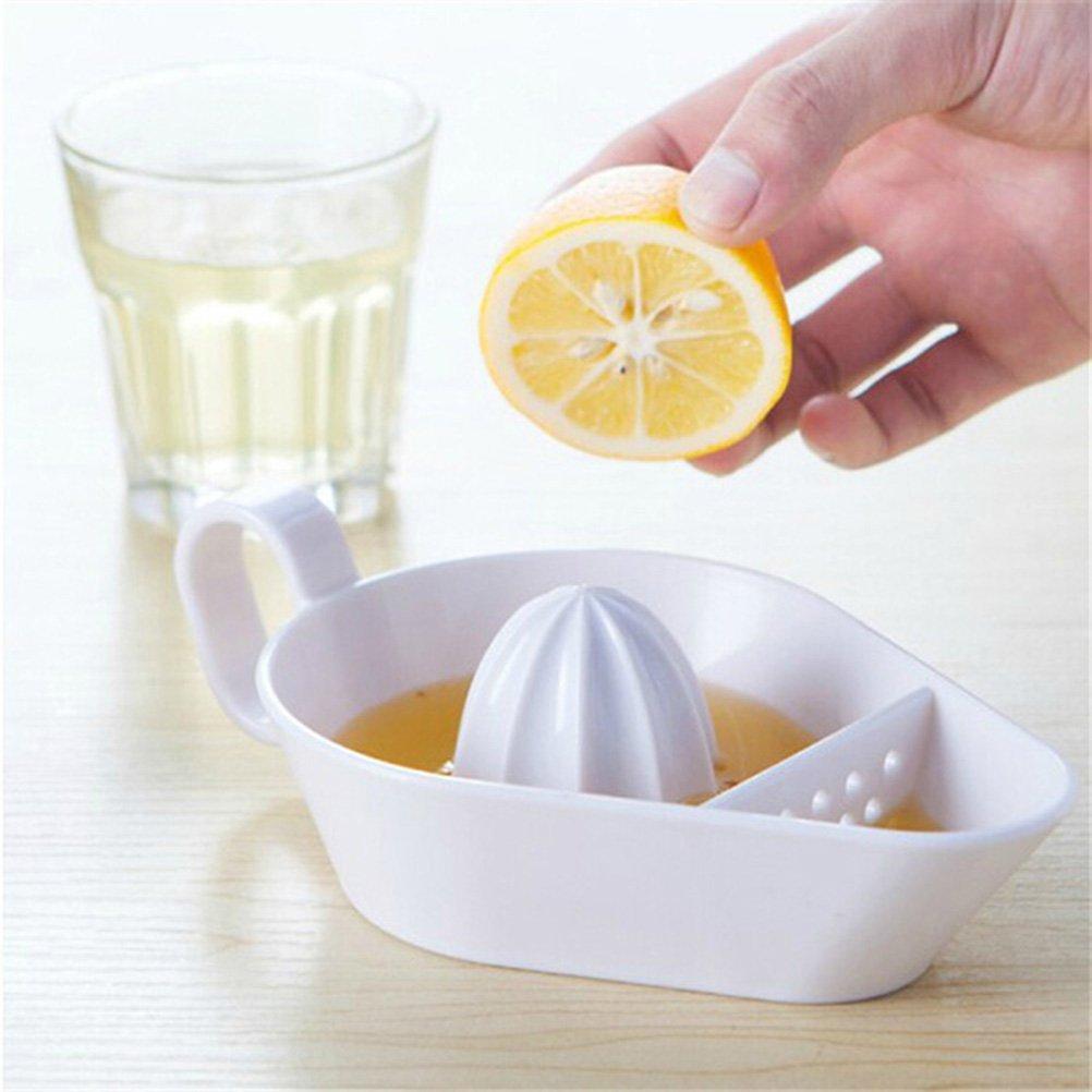 Ounona Presse Citron Creative Presse-citron Maker avec filtre Base