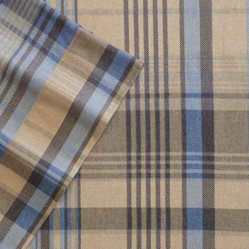 Cuddl Duds Heavyweight 4 Piece Flannel Sheet Set with Deep Pockets, Various Sizes/patterns