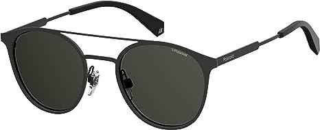 Polaroid PLD 2052/S M9 807 51 Gafas de sol, Negro (Black/Grey Pz), Unisex Adulto