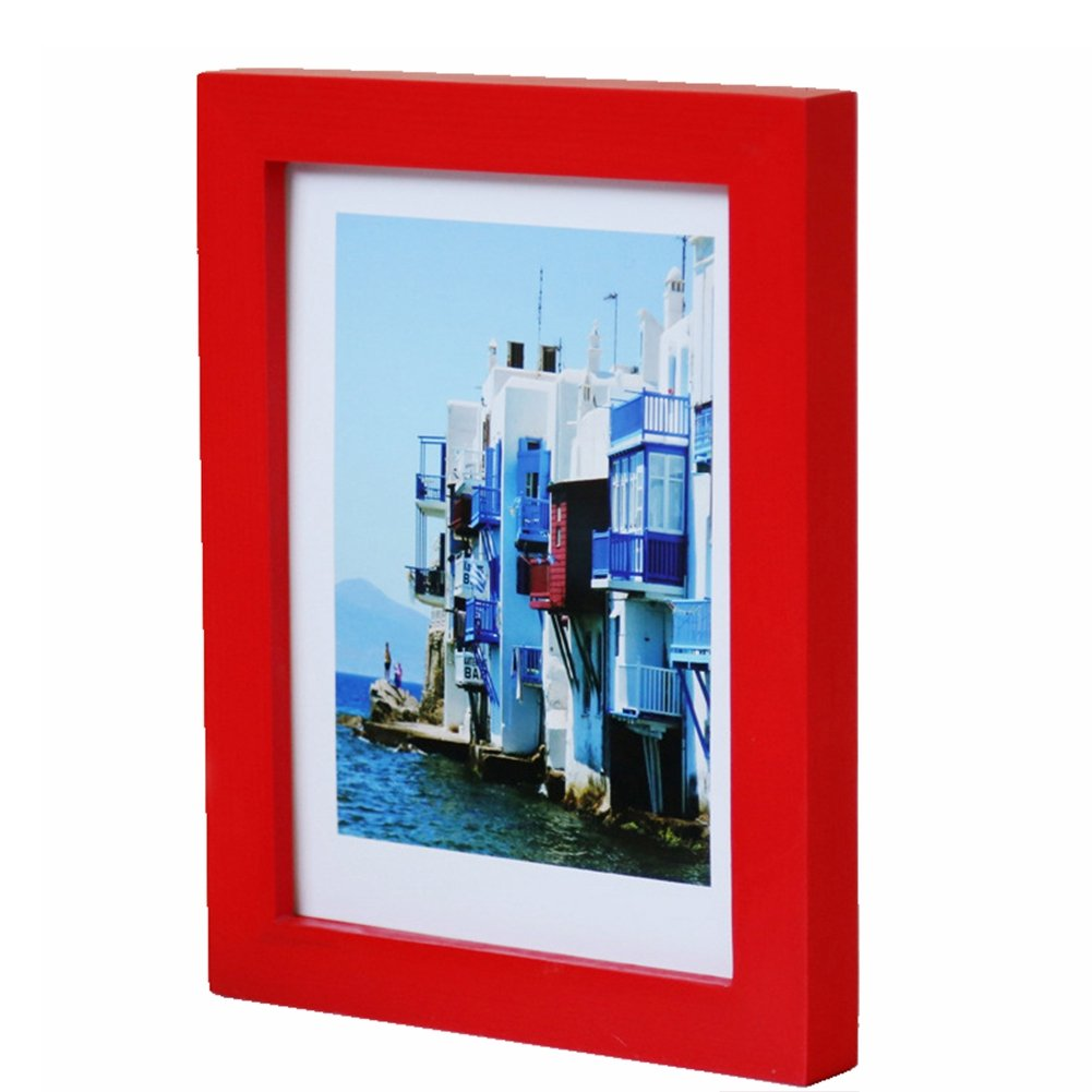 Wooden Picture Photo Wall Frame A4/5''/6''/7''/8'' Multi-size Room Decor Hot Style