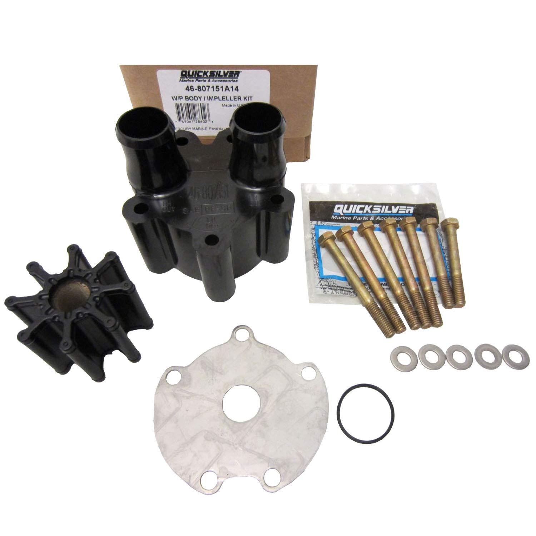 Mercruiser OEM Bravo Water Pump Housing & Impeller Repair Kit 46-807151A14