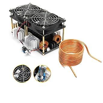 ZVS - Placa calefactora de inducción, módulo 12-48 V, con bobina ...