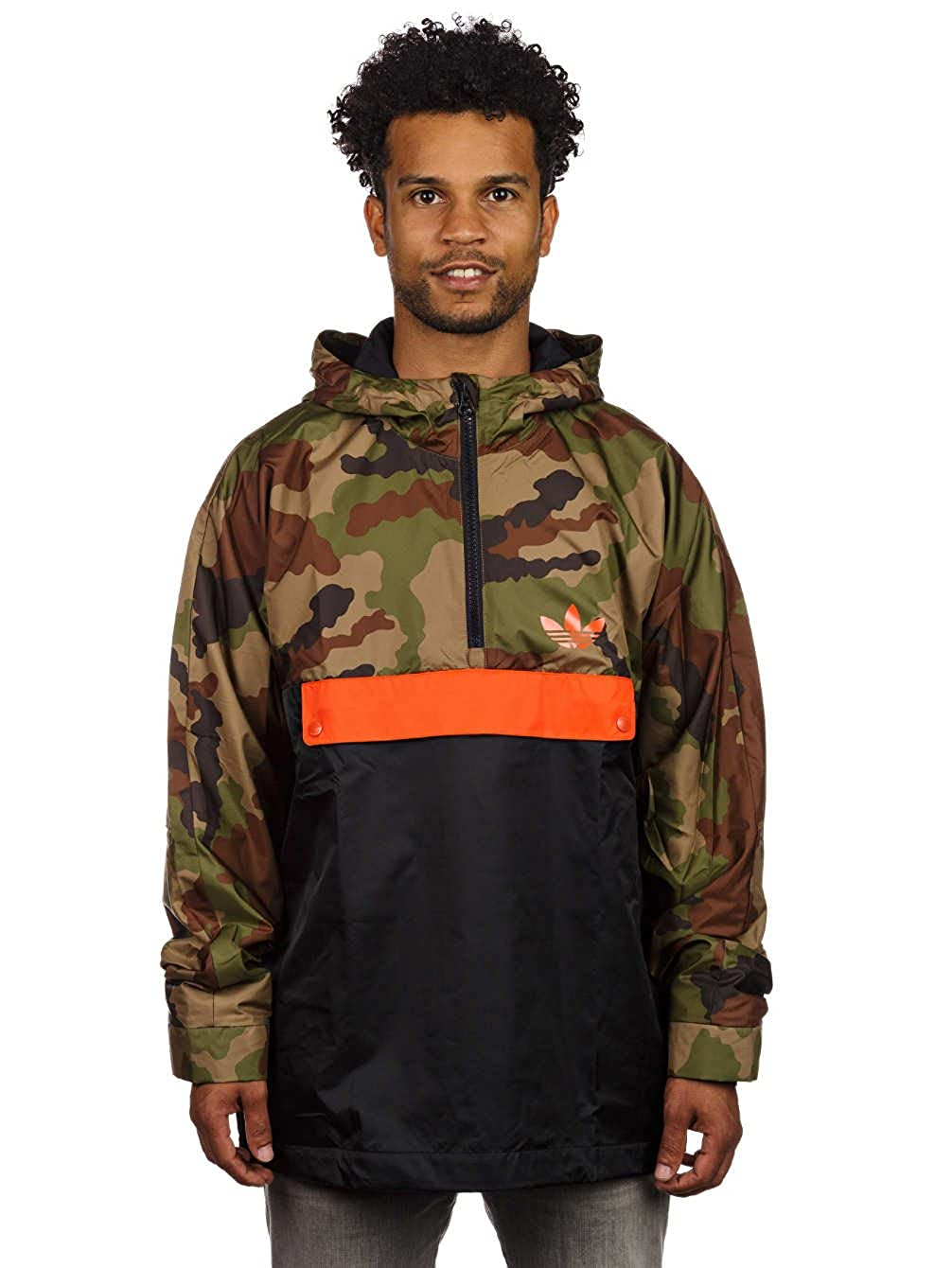 adidas HZ Hood WB Camo - Chándal para Hombre, Color Negro/Naranja ...