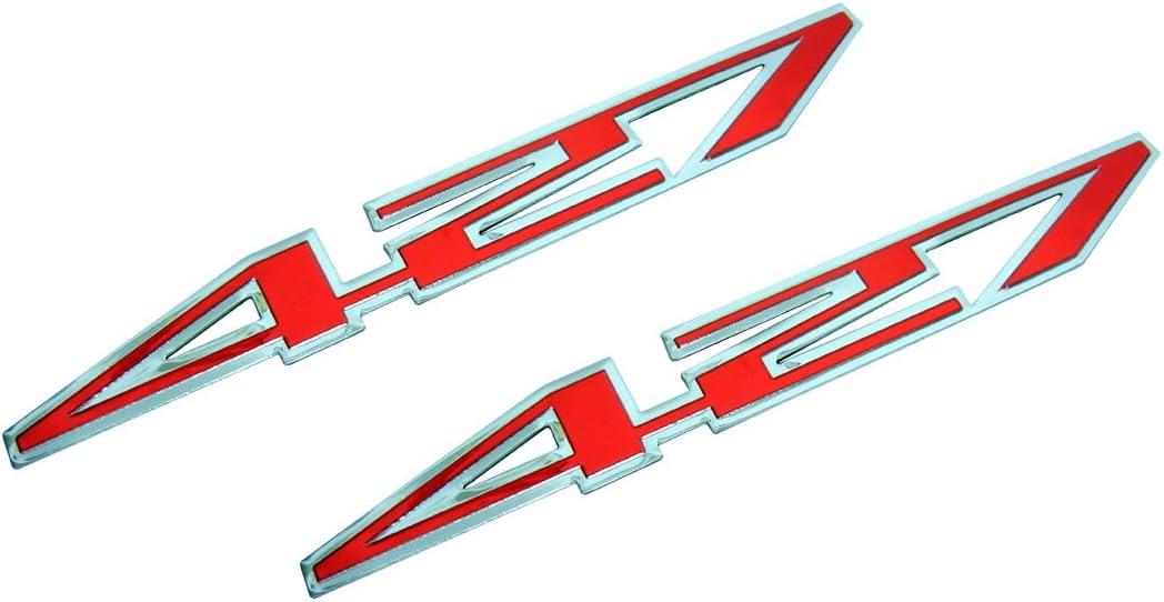 Chevrolet C6 Corvette Z06 427 Cubic Inch Engine Hood Badge Pair 2 colors