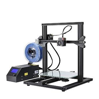 Creality CR-10 - Mini impresora 3D (aluminio con impresión de resume, 300 x 300 x 220 mm)