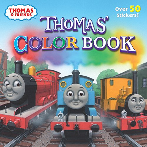 Thomas Color Book (Thomas & Friends) (Pictureback(R))