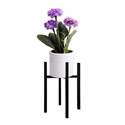 """Plant Stand Pot Rack Plant Rack Metal Pot Holder Flower Pot Holder Display Potted Rack Rustic Decor for House, Garden & Patio (Plant and Pot NOT Included)(10"""" Metal Plant Stand) : Garden & Outdoor"""