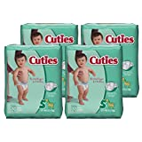 Amazon Price History for:Cuties Baby Diapers, Size 5, 27-Count, Pack of 4