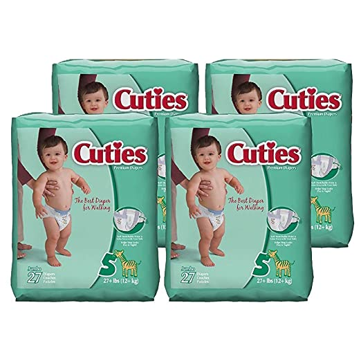 Cuties Diapers as low as $1.84...