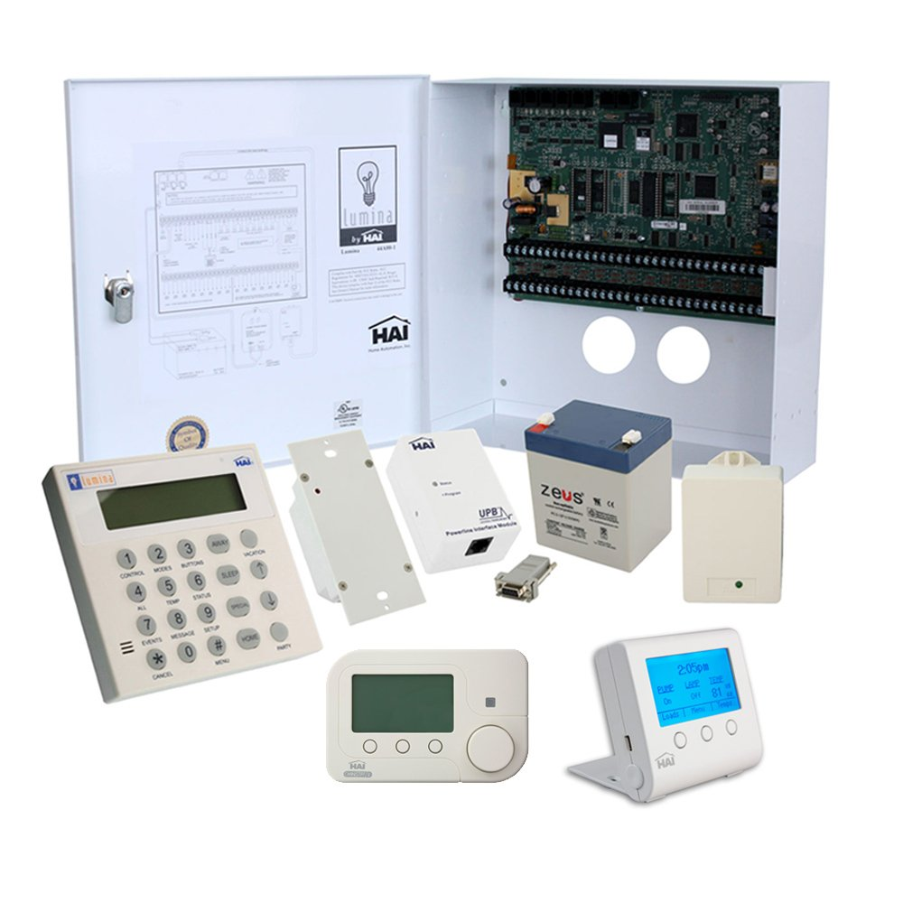 Leviton EMS3 Automation System with CFL/LED Lighting and ZigBee ...