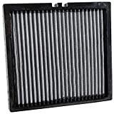 K&N VF3012 Washable & Reusable Cabin Air Filter Cleans and Freshens Incoming Air for your Dodge, Jeep