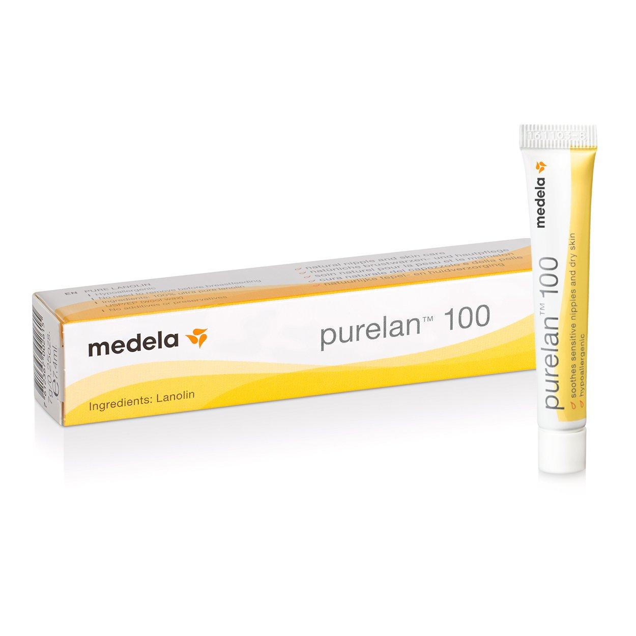 Medela PureLan 100 Crema 800.0699 Pezó n, 7 g, Amarillo 008.0048