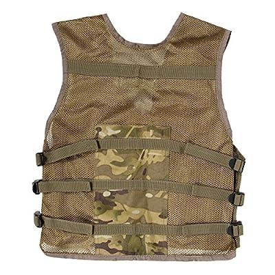 Kids Army Multi Terrain Camouflage Assault Vest
