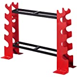 FISUP Dumbbell Rack Stand Only for Home Gym Weight Rack for Dumbbells (330 LBS Weight Capacity)