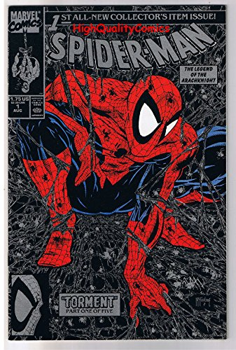 SPIDER-MAN #1, NM+, Todd McFarlane, 1990, Black Silver, More Spidy's in r store More Spidy' s in r store