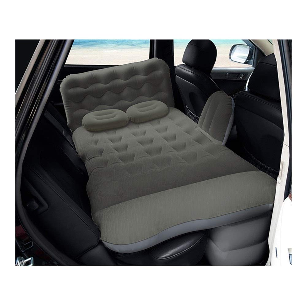 Car Inflatable Mattress Rear Seat Air Bed Child Mattress Adult Car Sleeping Pad Car Bed with Air Pump CIM0909 (Color : E) by ZCY-Auto Mattress