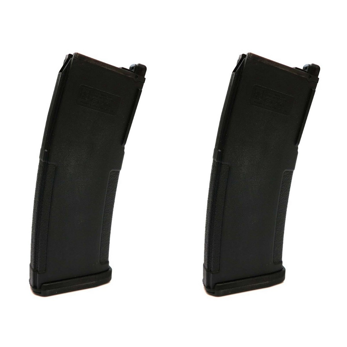 Airsoft Shooting Gear 2pcs PTS (KWA) EPM 40rd Enhanced Polymer GBBR Magazine Black