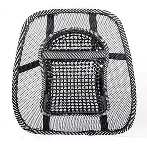 Car Waist Cushion Massage Pad Seat Waist Cushion Waist By Summer Breathable Ice Silk Waist