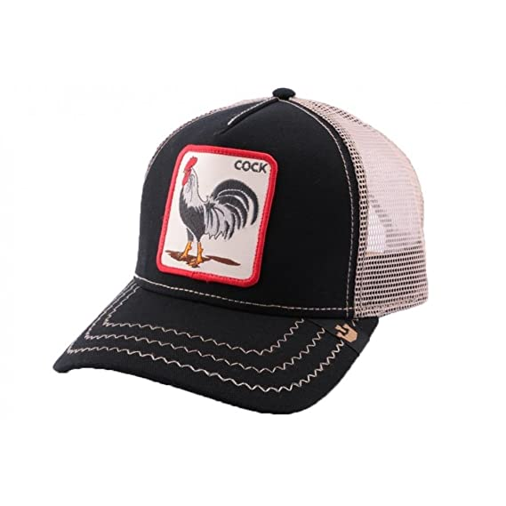 Trucker Cap Goorin Brothers Rooster Black – Unisex - Black - One Size 27d2316ad32